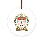 THIMOT Family Crest Ornament (Round)