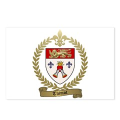 THIMOT Family Crest Postcards (Package of 8)