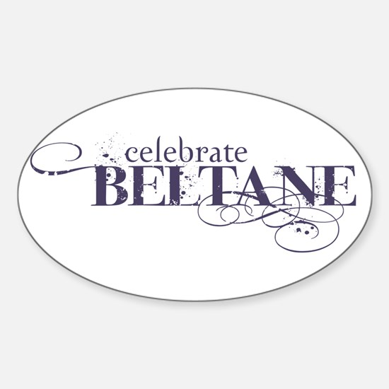 Beltane Oval Decal