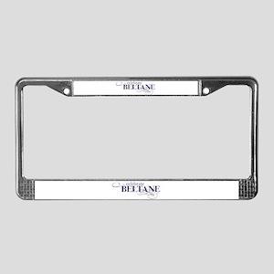 Beltane License Plate Frame