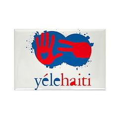 Yele Haiti Rectangle Magnet