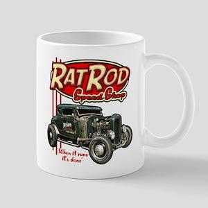 Rat Rod Speed Shop Mug