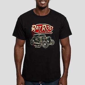 Rat Rod Speed Shop Men's Fitted T-Shirt (dark)