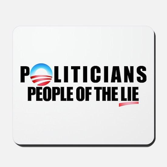 Anti-Politicians Mousepad