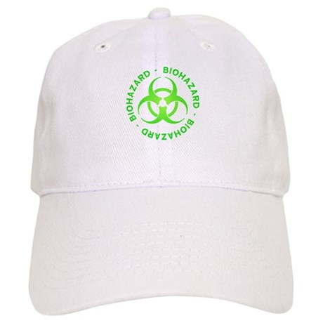 Green Biohazard Cap
