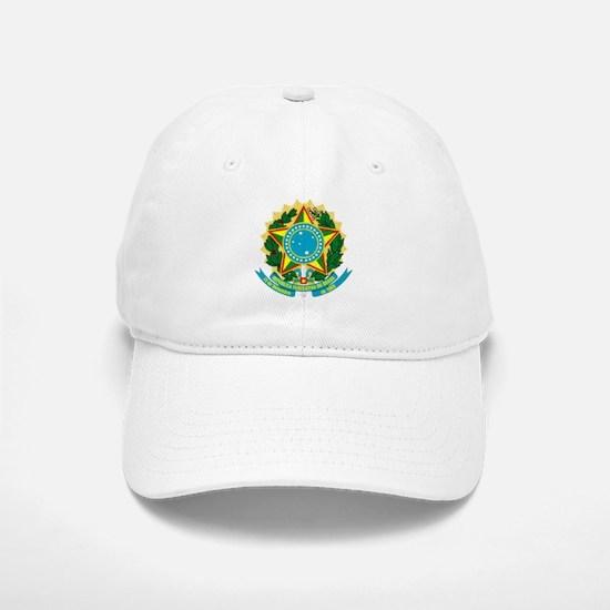 Brazil Coat of Arms Baseball Baseball Cap