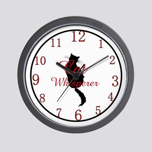Cat Whisperer Wall Clock