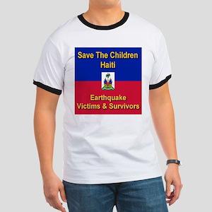 Save The Children Haiti Ringer T