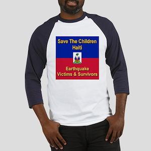 Save The Children Haiti Baseball Jersey