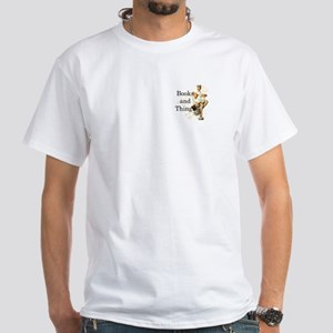 Books and Things White T-Shirt