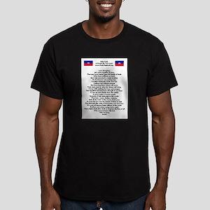 Save The Children Haiti Men's Fitted T-Shirt (dark
