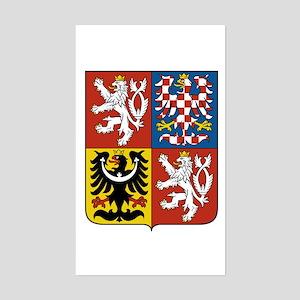 Czech republic gifts cafepress czech coat of arms rectangle sticker m4hsunfo