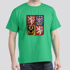 Czech Coat of Arms (Front) Dark T-Shirt