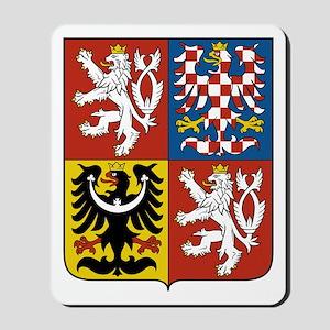 Czech Coat of Arms Mousepad