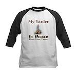 My Yarder Kids Baseball Jersey