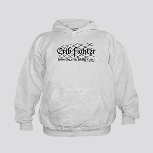 Crib Fighter Cage Kids Hoodie