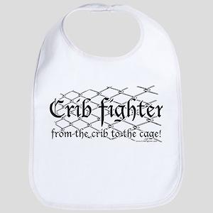 Crib Fighter Cage Bib