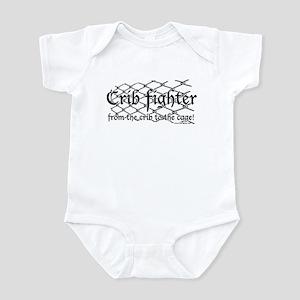 Crib Fighter Cage Infant Bodysuit