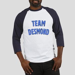 LOST Inspired TEAM DESMOND Baseball Jersey