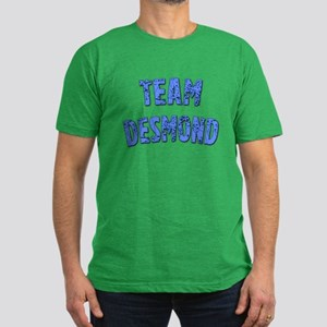 LOST Inspired TEAM DESMOND Men's Fitted T-Shirt (d