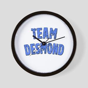 LOST Inspired TEAM DESMOND Wall Clock