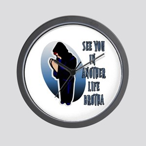 See You in Another Life Desmond Wall Clock