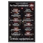 LG Williams: For Your Consideration 2010 Poster