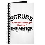 Janitor Quote, Scrubs Journal