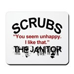 Janitor Quote, Scrubs Mousepad