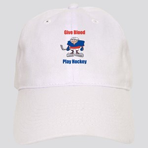 Give Blood, Play Hockey Cap
