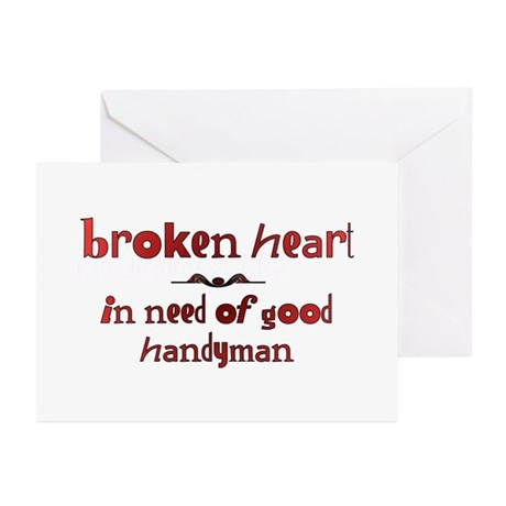 Broken Heart In Need Of Good Greeting Cards (Pack