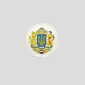 Ukraine Coat of Arms Mini Button