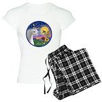 Unicorn-bluebird Women's Light Pajamas