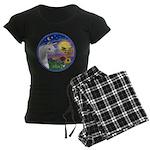Unicorn-bluebird Women's Dark Pajamas