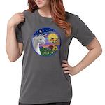 Unicorn-bluebird Womens Comfort Colors Shirt
