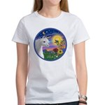 Unicorn & Blue Bird Women's T-Shirt