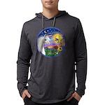 Unicorn-bluebird Mens Hooded Shirt