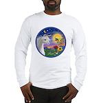 Unicorn & Blue Bird Long Sleeve T-Shirt