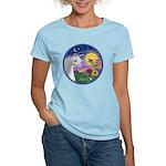 Unicorn & Blue Bird Women's Light T-Shirt