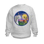 Unicorn & Blue Bird Kids Sweatshirt