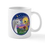 Unicorn & Blue Bird Mug