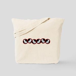 Lost Number Bunnies Tote Bag