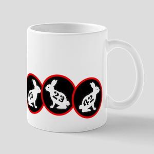 Lost Number Bunnies Mug