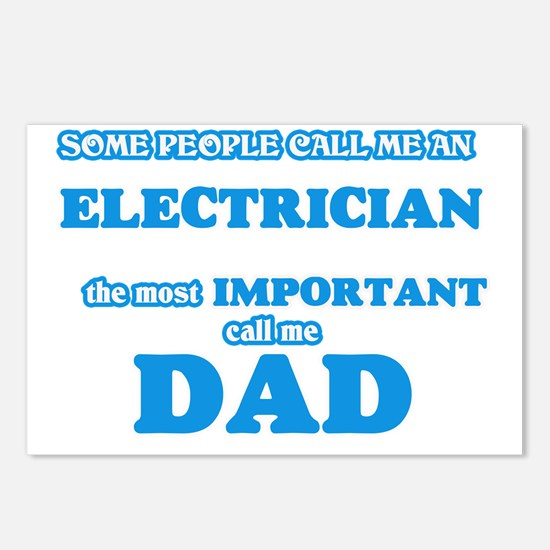 Some call me an Electrici Postcards (Package of 8)