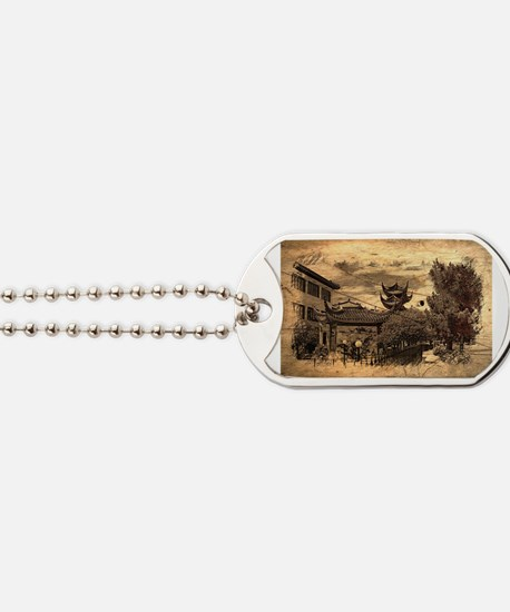 Cute Chinatown Dog Tags
