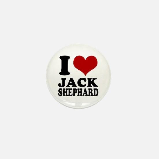 Lost I heart Jack Shephard Mini Button