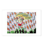 All Races - Painting by Howar Postcards (Package o