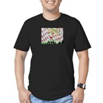 All Races - Painting by Howar Men's Fitted T-Shirt