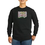 All Races - Painting by Howar Long Sleeve Dark T-S