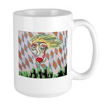 All Races - Painting by Howar Large Mug